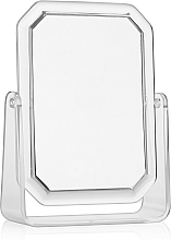 Парфюмерия и Козметика Двустранно правоъгълно козметично огледало, 19.5х14.5 см - Titania