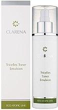 Парфюми, Парфюмерия, козметика Тонизираща емулсия с 3 вида стволови клетки - Clarena Eco Line Tricelles Toner Emulsion
