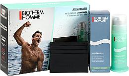 Парфюмерия и Козметика Комплект - Biotherm Aquapower Kit (емулсия за лице/75ml + портфейл за карти)