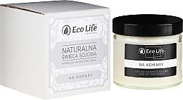 """Парфюмерия и Козметика Аромтна свещ """"Против комари"""" - Eco Life Candles"""