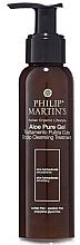 Парфюми, Парфюмерия, козметика Гел за дълбока хидратация на скалпа - Philip Martin's Aloe Pure Gel