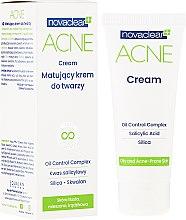 Парфюмерия и Козметика Матиращ крем за лице - Novaclear Acne Cream