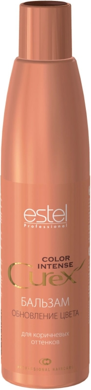 Балсам за коса за кестеняв оттенък - Estel Professional Curex Color Intense — снимка N1