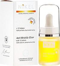 Парфюмерия и Козметика Еликсир против бръчки с 12 растерия - Nikel Intensive Care Eliksir