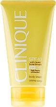 Парфюми, Парфюмерия, козметика Слънцезащитен крем за тяло SPF40 - Clinique Body Cream