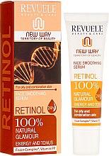 Парфюмерия и Козметика Серум за лице - Revuele Retinol Face Smoothing Serum Moisturise Tone Hydrate Lift Firm Skin