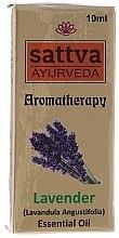 "Парфюми, Парфюмерия, козметика Етерично масло ""Лавандула"" - Sattva Ayurveda Lavender Essential Oil"