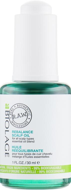 Ребалансиращо масло за скалп - Biolage R.A.W. Scalp Care Rebalance Scalp Oil — снимка N2