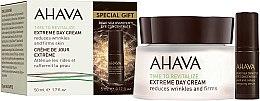 Парфюмерия и Козметика Комплект - Ahava Extreme Time to Revitalize (крем за лице/50ml + околоочен серум/5ml)