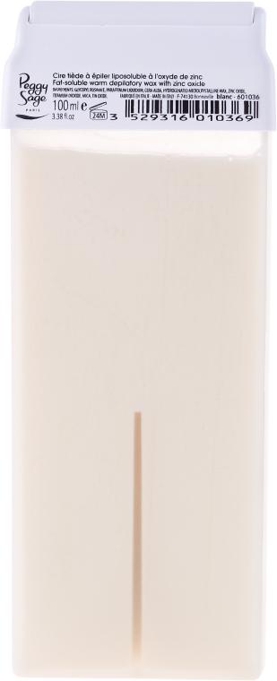 Кола маска за чувствителна кожа - Peggy Sage Cartridge Of Fat-Soluble Warm Depilatory Wax Blanc