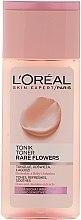 Парфюмерия и Козметика Тоник за суха и чувствителна кожа - L'Oreal Paris Rare Flowers Tonic Dry and Sensitive Skin