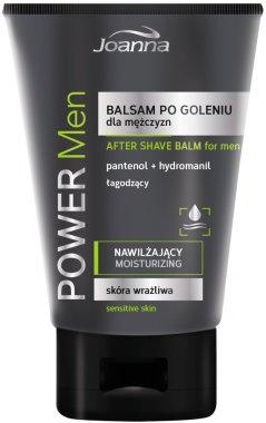 Балсам за след бръснене с пантенол за чувствителна кожа - Joanna Power Men After Shave Balm — снимка N1