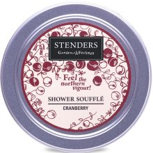 """Парфюмерия и Козметика Душ-мус """"Червена боровинка"""" - Stenders Cranberry Shower Souffle"""