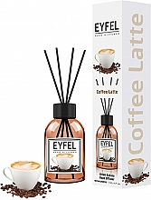 "Парфюмерия и Козметика Арома дифузер ""Кафе"" - Eyfel Perfume Reed Diffuser Coffee"