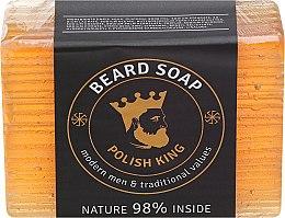 Парфюмерия и Козметика Сапун за брада - Polish King Beard Soap