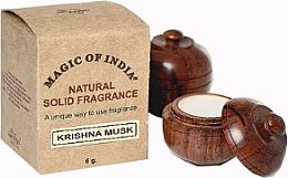 "Парфюми, Парфюмерия, козметика Натурален парфюмен крем ""Krishna Musk"" - Shamasa"