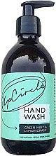 Парфюмерия и Козметика Течен сапун с аромат на люта мента и лимонова трева - UpCircle Hand Wash Green Mint & Lemongrass