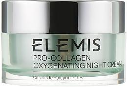 Парфюмерия и Козметика Нощен кислороден крем за лице - Elemis Pro-Collagen Oxygenating Night Cream