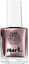 Парфюми, Парфюмерия, козметика Лак за нокти с метален ефект - Avon Mark Nail Style Studio