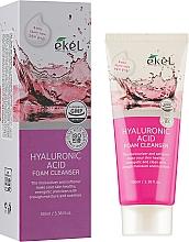 Парфюмерия и Козметика Почистваща пяна за лице с хиалуронова киселина - Ekel Hyaluronic Acid Foam Cleanser