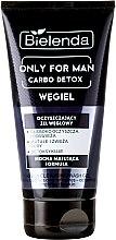 Парфюми, Парфюмерия, козметика Почистващ гел за лице - Bielenda Only For Men Carbo Detox Gel