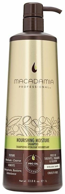 Подхранващ и хидратиращ шампоан за коса - Macadamia Natural Oil Nourishing Moisture Shampoo — снимка N1