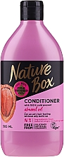 Парфюмерия и Козметика Балсам за обем с бадемово масло - Nature Box Almond Oil Conditioner