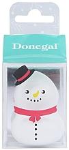 Парфюмерия и Козметика Гъба за грим 4339, бяла - Donegal Blending Sponge Snowman