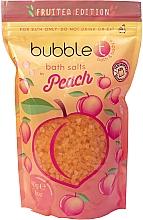 """Парфюмерия и Козметика Соли за вана """"Праскова"""" - Bubble T Cosmetics Bath Salt Peach"""