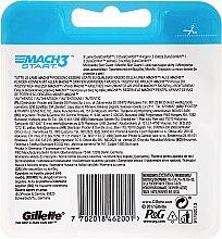 Сменяеми ножчета, 4 бр - Gillette Mach3 Start — снимка N2