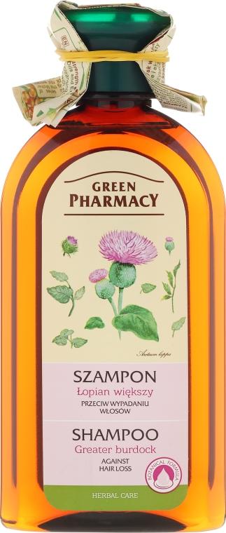 "Шампоан ""Голям репей"" - Green Pharmacy"
