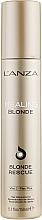 Парфюмерия и Козметика Реконструиращ крем за изсветлена коса - L'anza Healing Blonde Rescue
