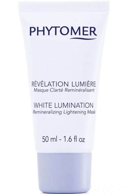 Избелваща маска - Phytomer White Lumination Remineralizing Lightening Mask — снимка N1