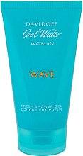 Парфюми, Парфюмерия, козметика Davidoff Cool Water Wave Woman - Душ гел