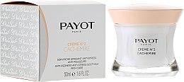 Парфюмерия и Козметика Успокояващ крем, премахващ стреса и зачервяването, с наситена текстура - Payot Creme №2 Cachemire