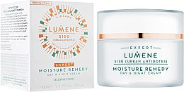 Парфюми, Парфюмерия, козметика Овлажняващ крем за лице - Lumene Sisu [Urban Antidotes] Moisture Remedy Day&Night Cream
