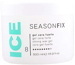 Парфюмерия и Козметика Фиксиращ гел за коса - Light Irridiance Season Fix Strong Wax Gel