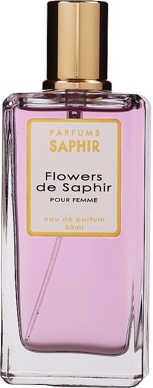 Saphir Parfums Flowers de Saphir - Парфюмна вода