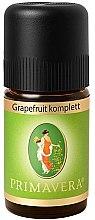 Парфюмерия и Козметика Масло грейпфрут - Primavera Organic Grapefruit Oil