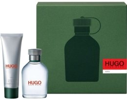 Парфюми, Парфюмерия, козметика Hugo Boss Hugo men - Комплект (тоал. вода/75ml + душ гел/100ml)