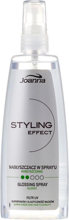 Спрей блясък за коса - Joanna Styling Effect Spray