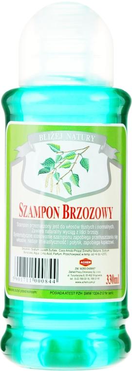 Шампоан с екстракт от бреза за нормална и мазна коса - Achem Popular Birch Shampoo