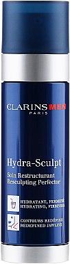 Хидратиращ моделиращ крем-гел за лице - Clarins Men Hydra Sculpt Gel (тестер) — снимка N1