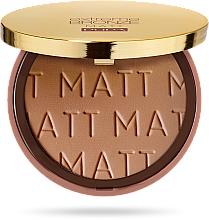 Парфюмерия и Козметика Бронзираща пудра - Pupa Extreme Bronze Matt