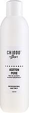 Парфюмерия и Козметика Течност за премахване на хибриден лак за нокти - Chiodo Pro Soft Aceton Pure