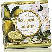 "Парфюми, Парфюмерия, козметика Натурален сапун ""Бергамот и Гардения"" - Saponificio Artigianale Fiorentino Capri Bergamot & Gardenia Soap"