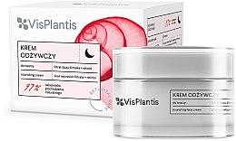 Парфюми, Парфюмерия, козметика Нощен крем за лице - Vis Plantis Reti Vital Care Anti-Wrinkle Nourishing Night Cream