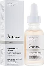 Парфюмерия и Козметика Пилинг за лице с млечна киселина - The Ordinary Lactic Acid 10% + HA 2%