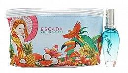 Парфюмерия и Козметика Escada Born in Paradise - Комплект (тоал. вода/30ml + несесер)