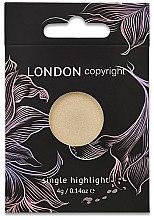 Парфюми, Парфюмерия, козметика Хайлайтър за лице - London Copyright Magnetic Face Powder Highlight (Moonshine)